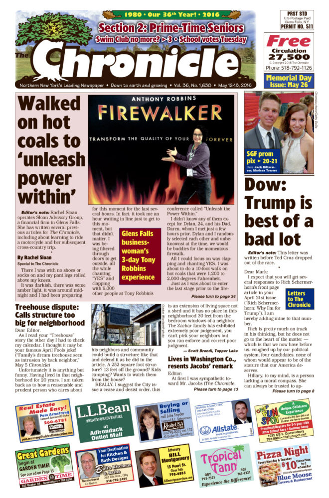 Our May 12 issue