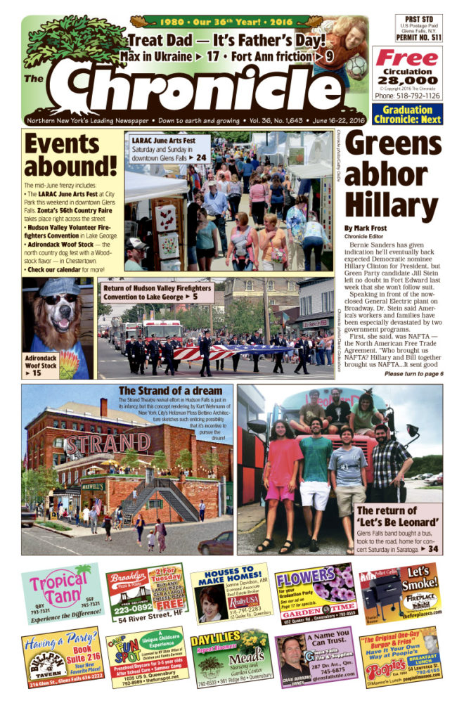 Our June 16 issue