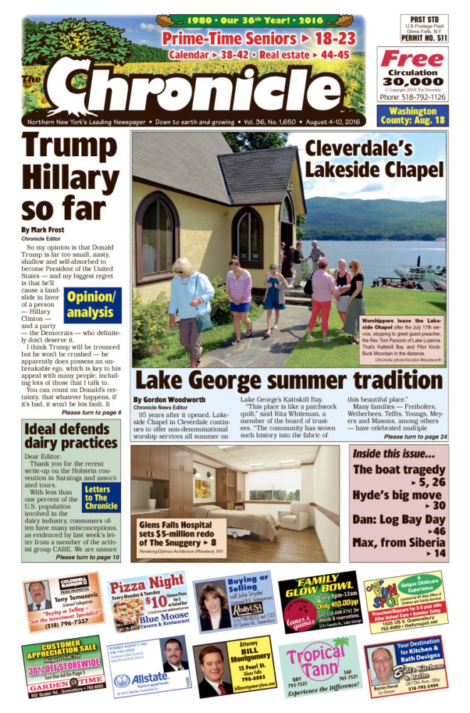 Our August 4 issue