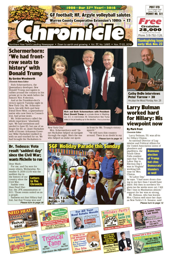Our November 17 issue