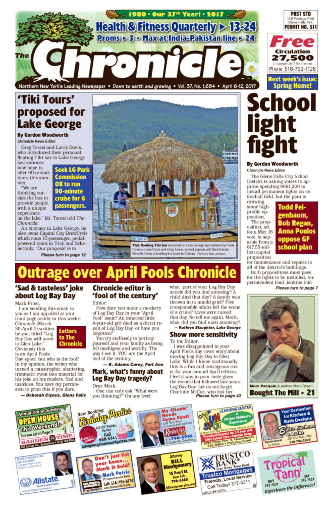 Our April 6 issue