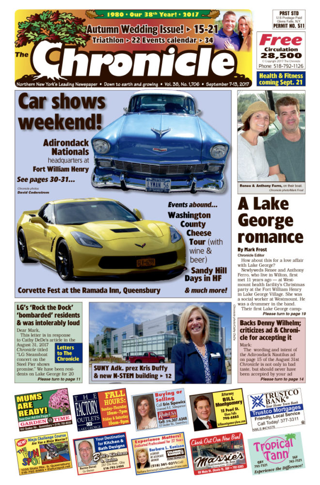 Our Sept. 7 issue