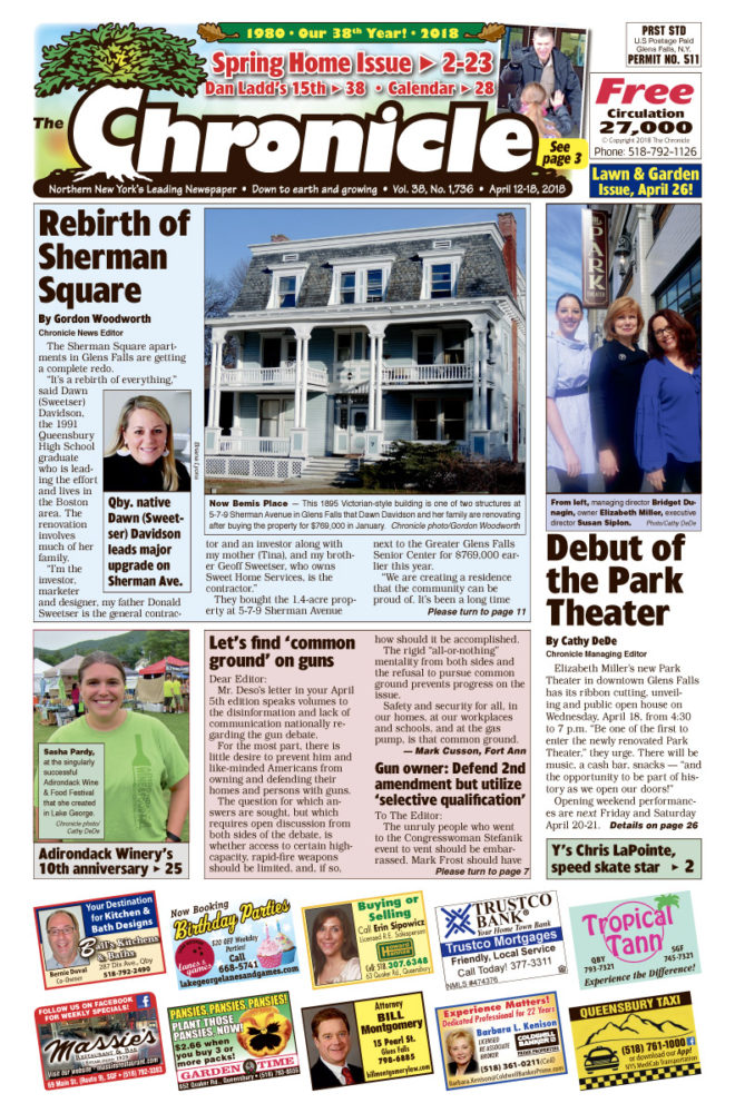 Our April 12 issue