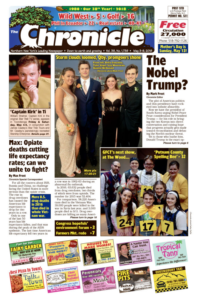 Our May 3 issue