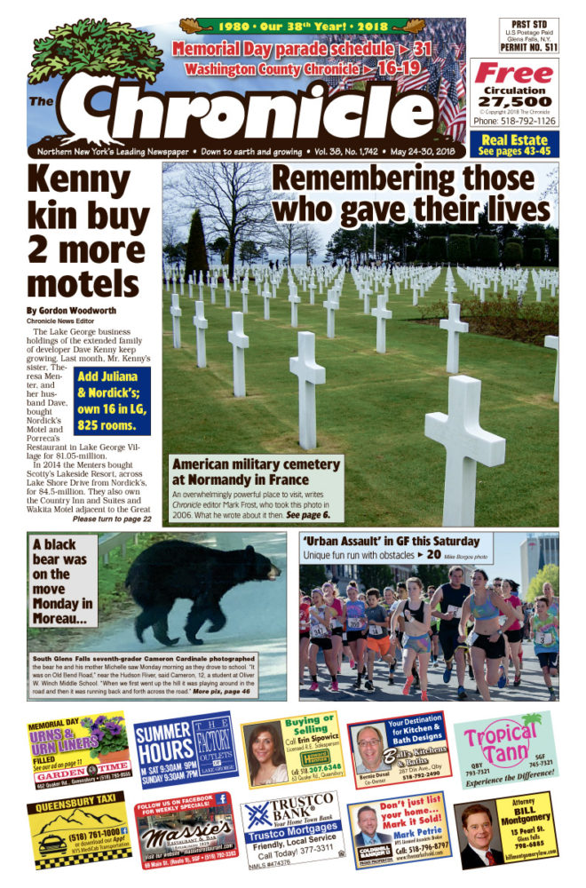 Our May 24 issue