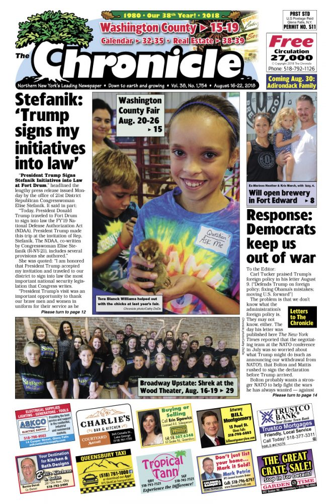 Our August 16 issue