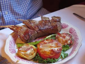 Chez Pierre's Rack of Lamb