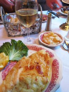 Chez Pierre's Filet of Sole Meunière