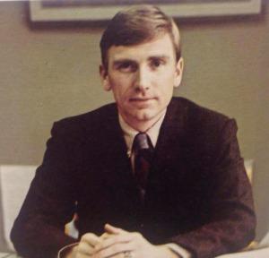 Stan Rummel yearbook photo