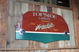 Topside Grille sign