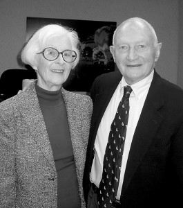 Claire and Dick Bartlett were Glens Falls stand-outs.