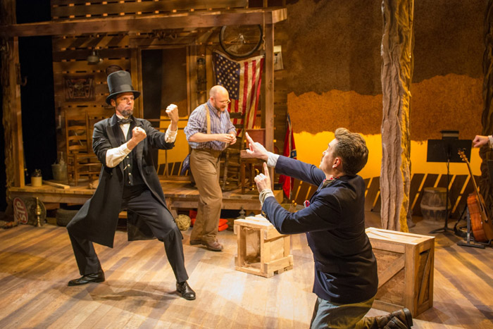 Seriously funny  — J. Robert Spencer, Matthew Stocke and Brian Clarles Rooney in UnCivil War.