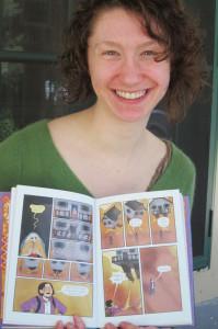 Marika's best-seller — A peek inside Baba Yaga's Assistant, by Marika McCoola. Illustrations by Emily Carroll. Chronicle photo/Cathy DeDe