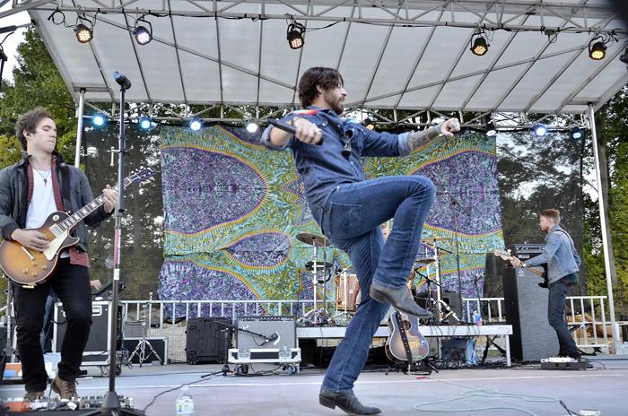 Austin Webb — Our Cathy's new favorite country rocker. Chronicle photo/Andrzej Pilarczyk