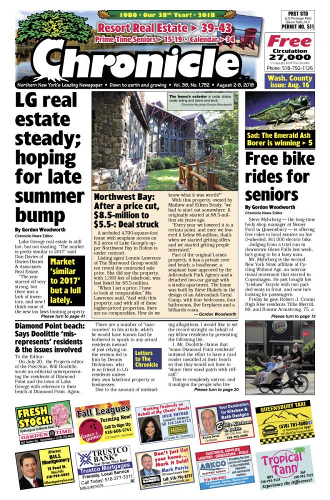 Our August 2 issue