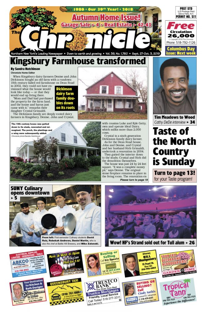 Our September 27 issue