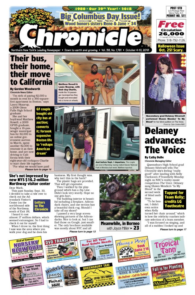 Our October 4 issue