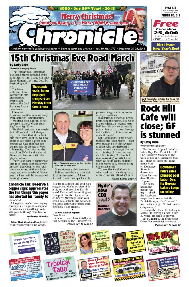 Our December 20 issue