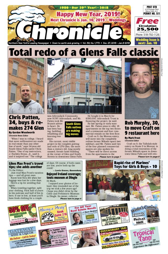 Our December 27 issue
