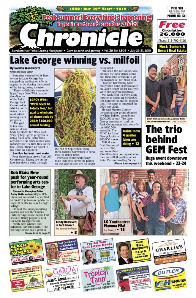 Our July 25 issue