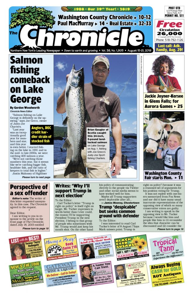 Our August 15 issue