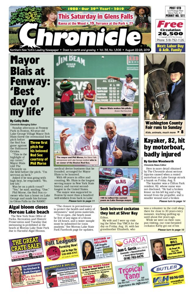 Our August 22 issue