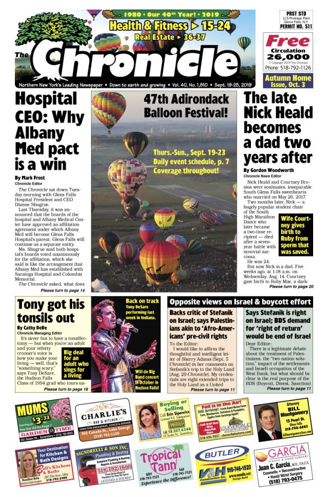 Our September 19 issue