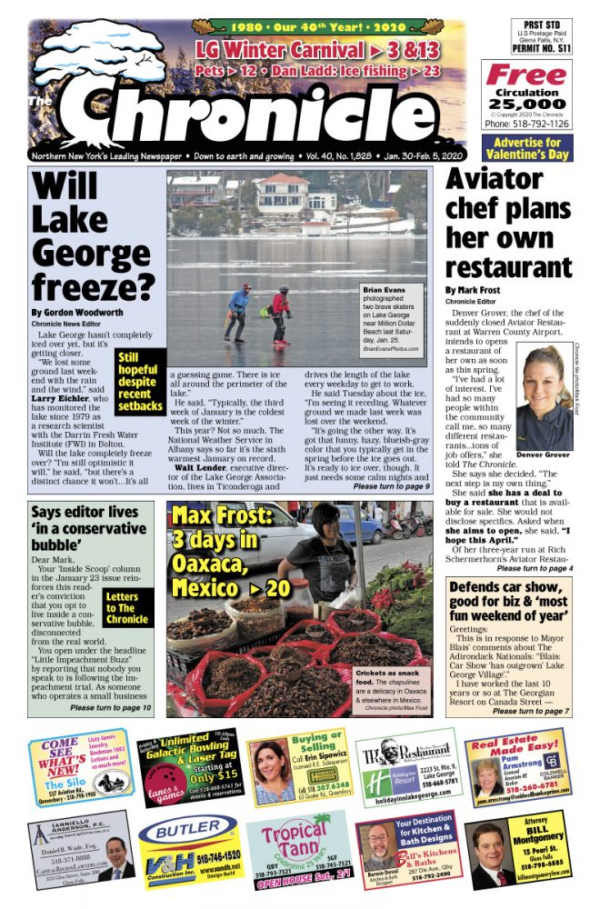 Our January 30 issue
